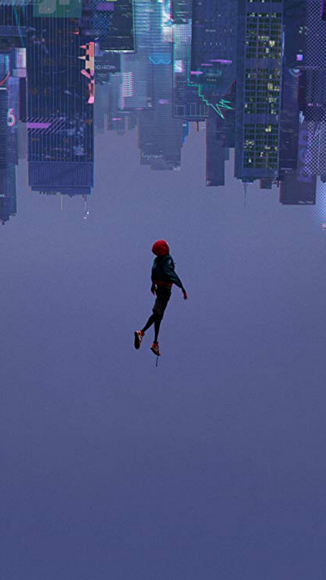 Spider-Man Into the Spider-Verse 2018 iPhone 7 Wallpaper with resolution 1080x1920 pixel. You can make this wallpaper for your Mac or Windows Desktop Background, iPhone, Android or Tablet and another Smartphone device