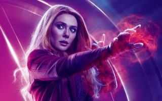 Elizabeth Olsen Scarlet Witch Avengers Endgame Wallpaper HD With high-resolution 1920X1080 pixel. You can use this poster wallpaper for your Desktop Computers, Mac Screensavers, Windows Backgrounds, iPhone Wallpapers, Tablet or Android Lock screen and another Mobile device