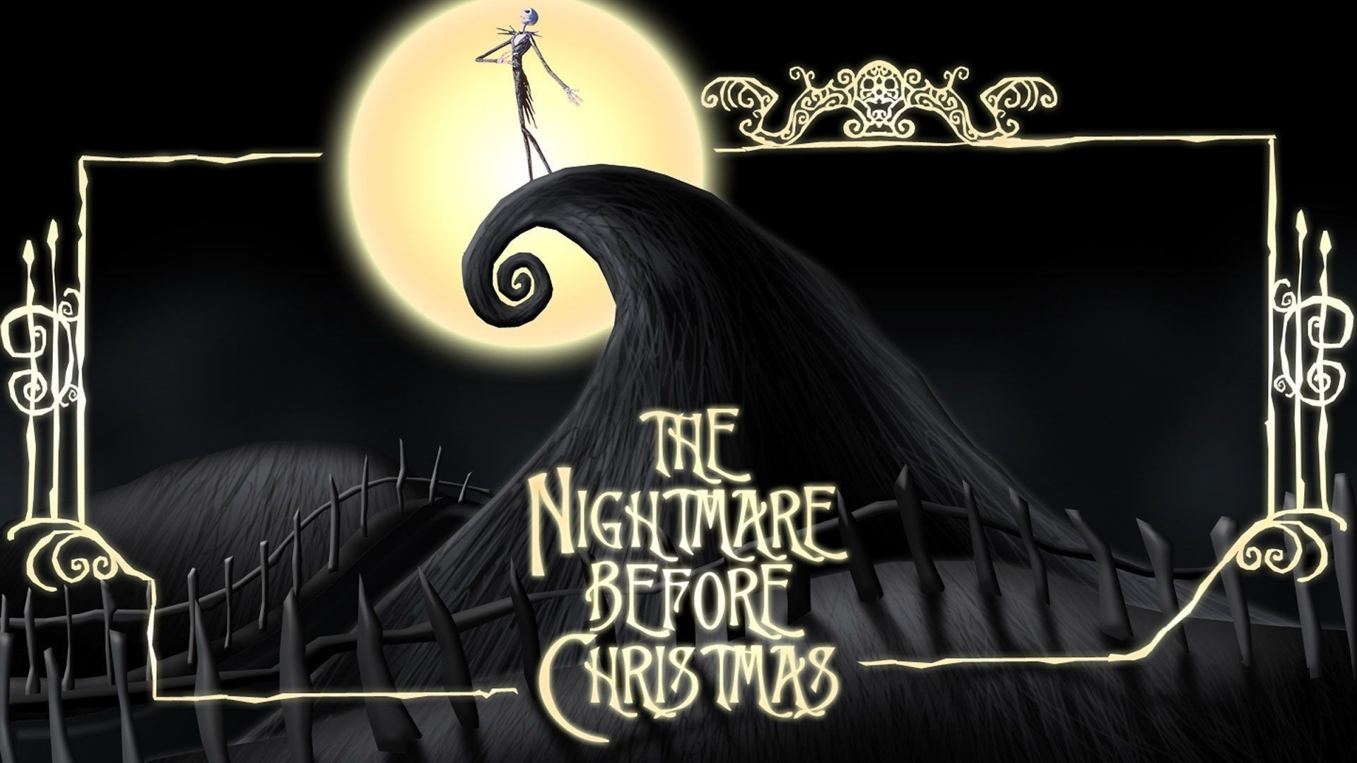 Nightmare Before Christmas Poster Wallpaper with high-resolution 1920x1080 pixel. You can use this poster wallpaper for your Desktop Computers, Mac Screensavers, Windows Backgrounds, iPhone Wallpapers, Tablet or Android Lock screen and another Mobile device
