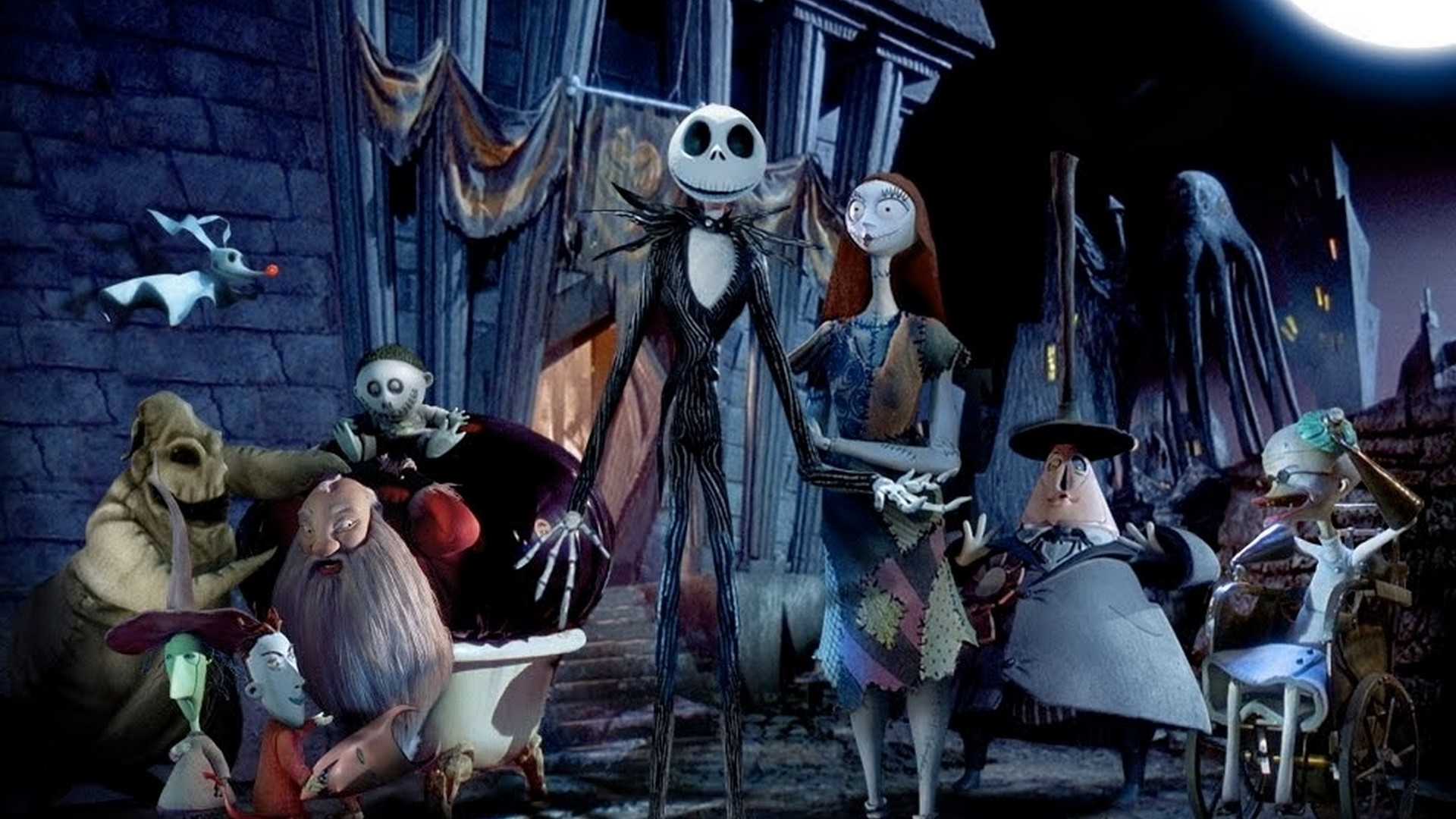 Nightmare Before Christmas Trailer Wallpaper with high-resolution 1920x1080 pixel. You can use this poster wallpaper for your Desktop Computers, Mac Screensavers, Windows Backgrounds, iPhone Wallpapers, Tablet or Android Lock screen and another Mobile device